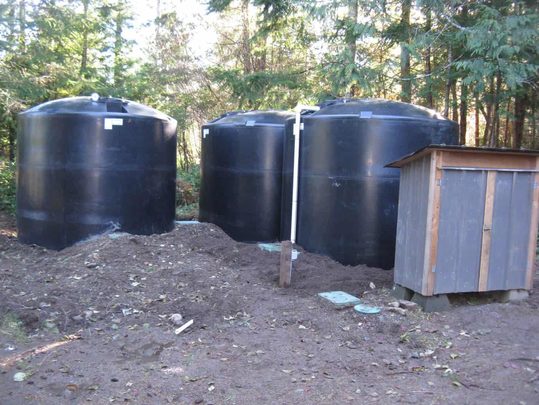Denman Island Rainwater Harvesting