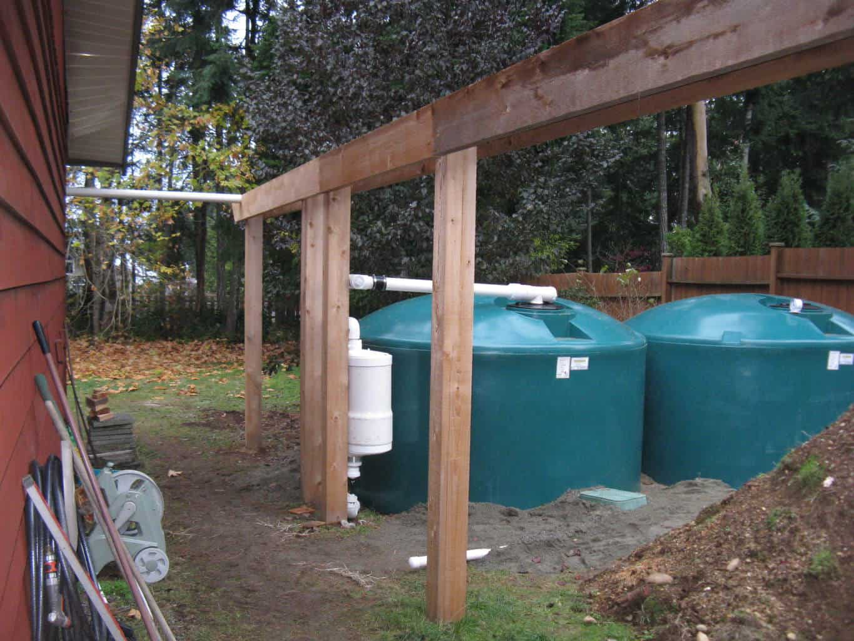 Lantzville Rainwater Harvesting