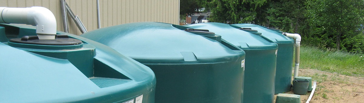Rainwater harvesting equipment