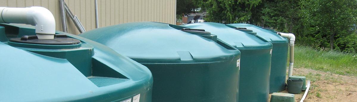 Rainwater harvesting equipment