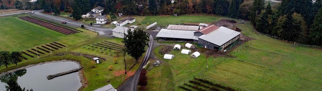 Regenerative landscape design on a farm